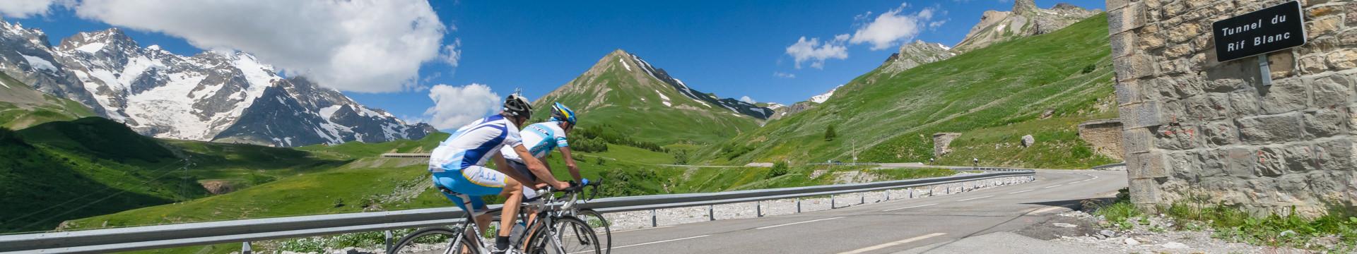 Les itinéraires vélo et rando VTT du Briançonnais