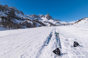 Itinéraire ski Nordique - Haute Clarée Laval