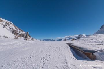 Itinéraire Nordique - Le Col Izoard (depuis Cervières/Le Laus)