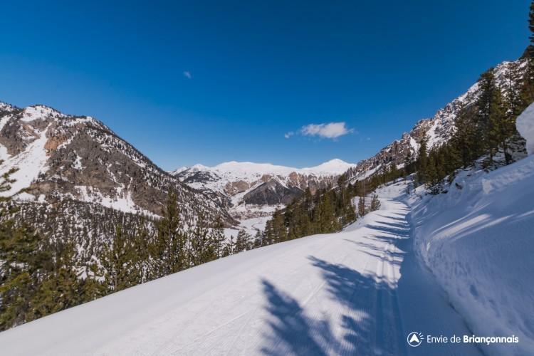 Domaine ski nordique de Cervières - Secteur du Laus