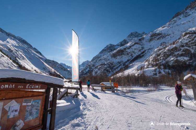 Domaine ski nordique Villar d'Arène Pays de la Meije