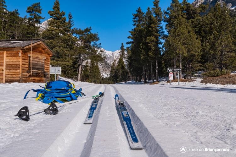 Itinéraire ski Nordique - Le Col de l'Echelle