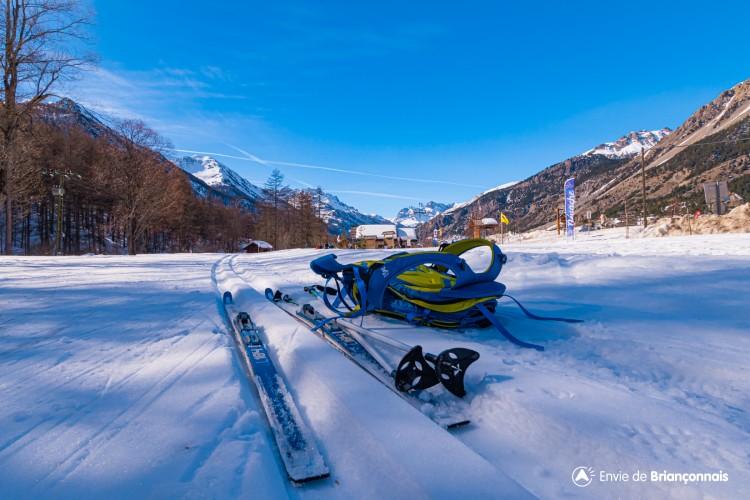 Domaine ski nordique de Névache