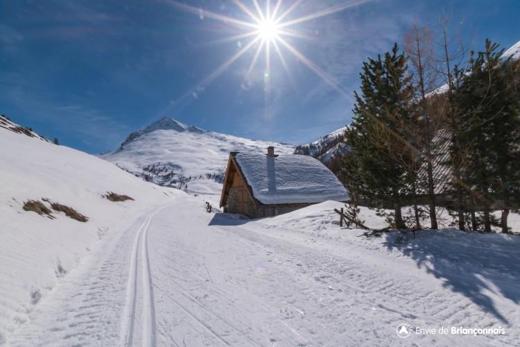 Domaine ski nordique de Cervières - Secteur des Fonts