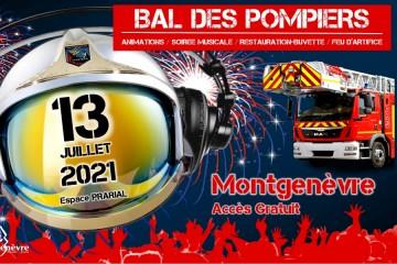 Fête Nationale 2021 Montgenèvre - Feu d'artifice