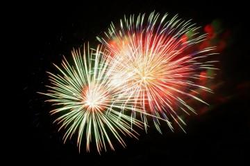 Fête Nationale Briançon 2021 - Feu d'artifice