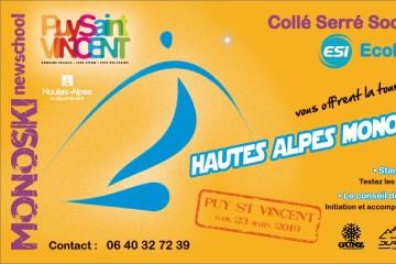 Hautes Alpes Mono Tour 2019 - Etape 3 Puy Saint Vincent