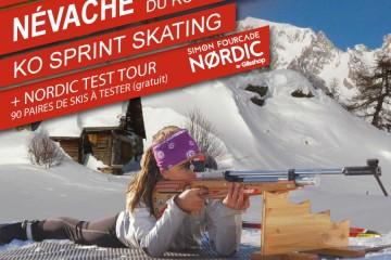 Biathlon Ko Sprint Névache 2020