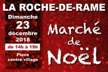 Marché de Noël - Roche de Rame
